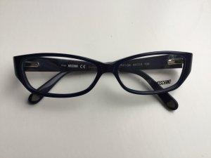 Moschino, Brillengestell, Fensterglas, neu