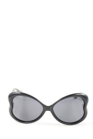 Moschino Occhiale a farfalla nero-grigio chiaro stile casual