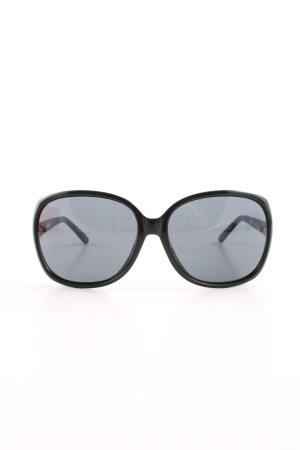 Moschino Okulary motylki czarny