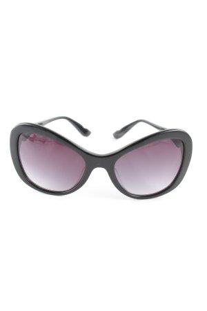 Moschino Butterfly Brille schwarz-lila Farbverlauf Casual-Look