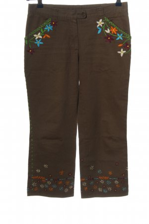 Moschino Cheap and Chic Pantalon 3/4 brun style décontracté