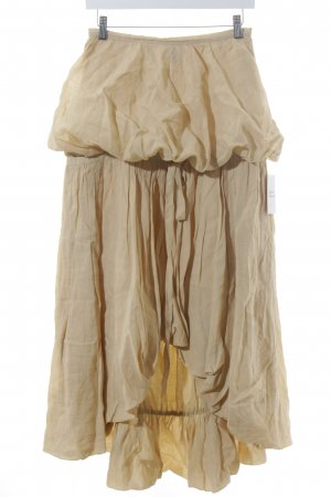 Moschino Cheap and Chic Balloon Skirt beige extravagant style