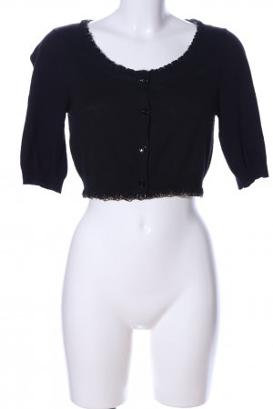 Moschino Cheap and Chic Bolero schwarz Casual-Look