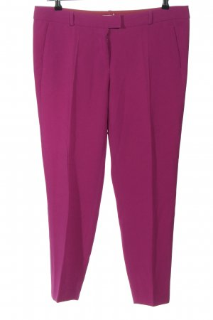 Moschino Cheap and Chic Bundfaltenhose lila Casual-Look