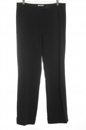 Moschino Cheap and Chic Bundfaltenhose schwarz