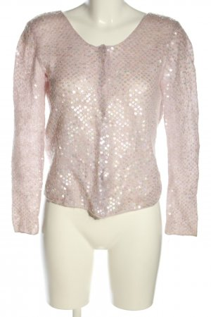 Moschino Cheap and Chic Cardigan pink Allover-Druck Elegant