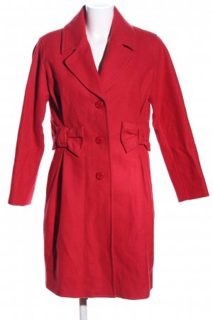 Moschino Cheap and Chic Fleecemantel rot Casual-Look