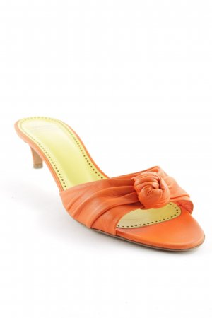 Moschino Cheap and Chic High Heel Sandaletten orange Casual-Look