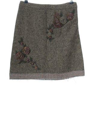 Moschino Cheap and Chic High Waist Skirt light grey-cream flecked casual look