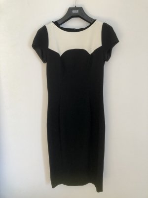 Moschino Cheap and Chic Cocktail Dress black-natural white