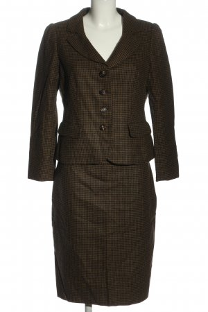 Moschino Cheap and Chic Ladies' Suit brown-black check pattern business style