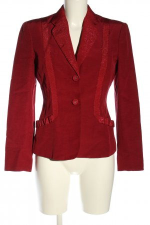 Moschino Cheap and Chic Kurz-Blazer rot Elegant