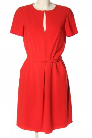 Moschino Cheap and Chic Kurzarmkleid rot Casual-Look