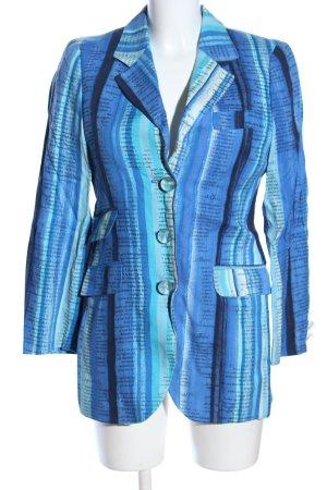 Moschino Cheap and Chic Long-Blazer Schriftzug gedruckt Business-Look