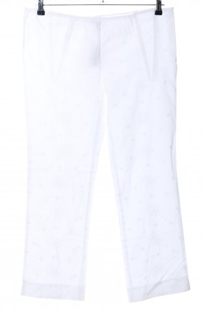 Moschino Cheap and Chic Stoffhose weiß Casual-Look