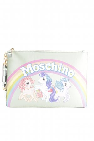 Moschino Clutch mehrfarbig extravaganter Stil