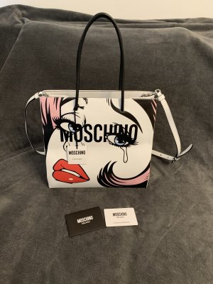 Moschino Couture, Crying Comic Girl Tote Bag