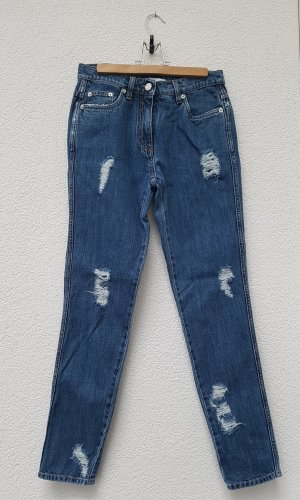 "Moschino ""Couture"" Jeans Destroyed Look"