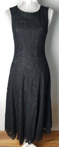 Moschino Couture Kleid schwarz mit Spitze