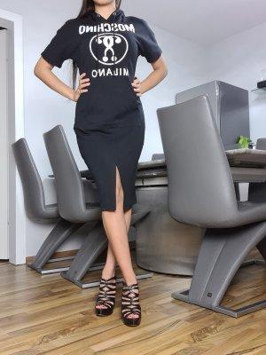 Moschino Couture! Robe Sweat blanc-noir