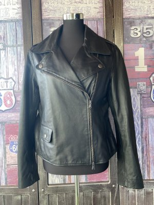 Moschino Cheap and Chic Leather Jacket black