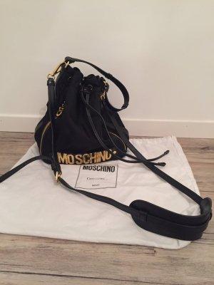 Boutique Moschino Handbag black-gold-colored