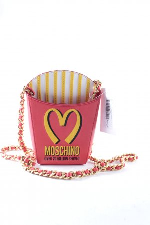 Moschino FRENCH FRIES MCDONALDS LEATHER BAG JEREMY SCOT