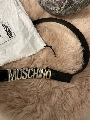 Moschino Couture! Leather Belt black