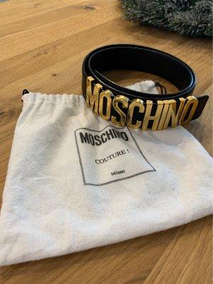 Moschino Gürtel schwarz-gold