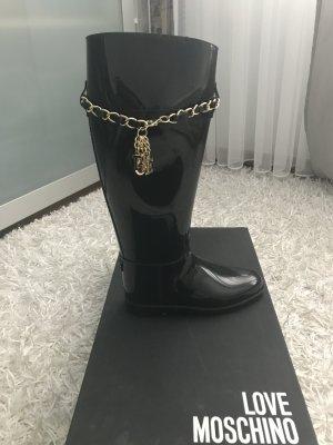 Love Moschino Wellington laarzen zwart