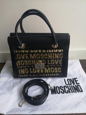 Moschino Handtasche Tasche schwarz