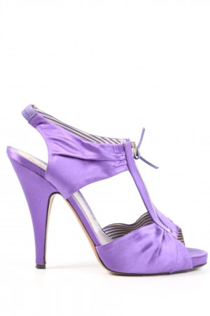 Moschino High Heel Sandaletten lila Elegant