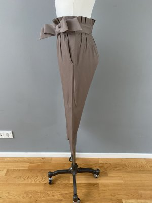 Moschino Paperbag Trousers grey brown