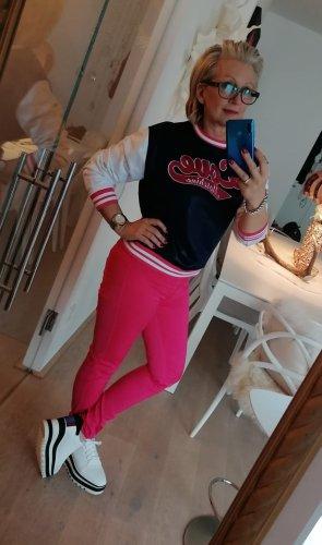 Love Moschino Pantalón de tubo rosa