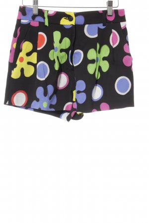 Moschino Hot Pants florales Muster extravaganter Stil