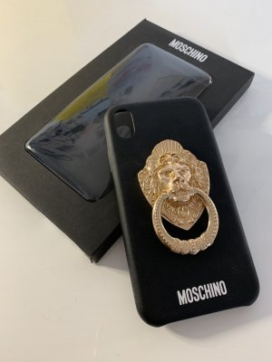 MOSCHINO iPhone XR Hülle Leder