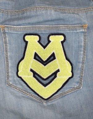 Moschino Drainpipe Trousers multicolored
