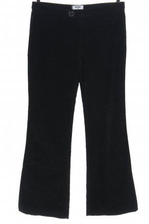 Moschino Jeans Corduroy Trousers black casual look