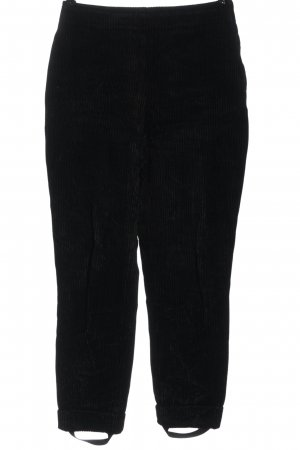 Moschino Jeans Cordhose schwarz Casual-Look