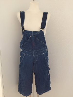 Moschino Jeans Dungarees blue-silver-colored