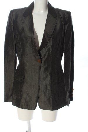 Moschino Jeans Long-Blazer schwarz Business-Look