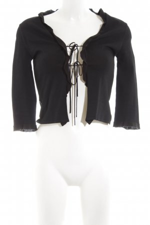 Moschino Jeans Strick Cardigan schwarz Casual-Look