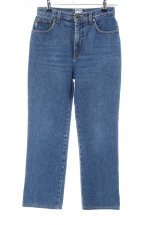 Moschino Carrot Jeans blue casual look