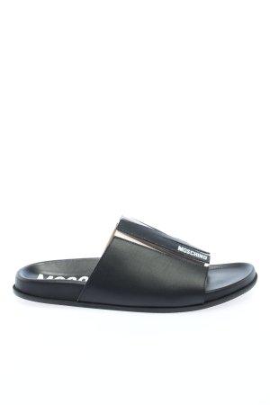 Moschino Komfort-Sandalen schwarz Casual-Look