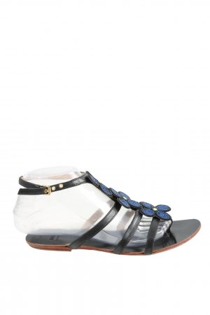 Moschino Comfort Sandals black-blue casual look