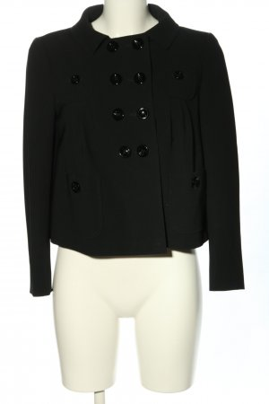 Moschino Short Blazer black casual look
