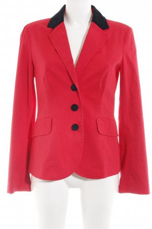 Moschino Long-Blazer rot Business-Look
