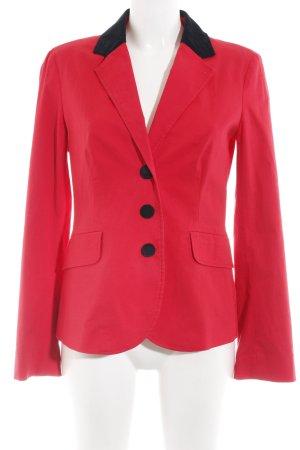 Moschino Blazer lungo rosso stile professionale