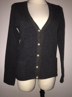 Love Moschino Knitted Sweater anthracite wool