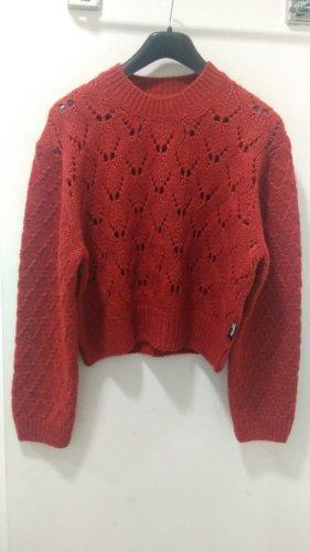 Love Moschino Wollen trui roodbruin